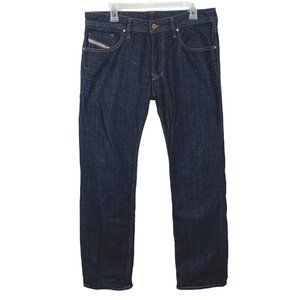 Diesel Industry Dark Wash Jeans Straight Relaxed